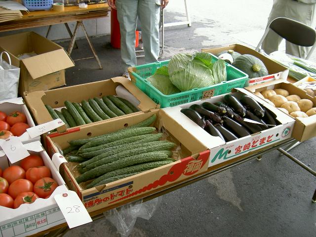 夏季農林産物品評会